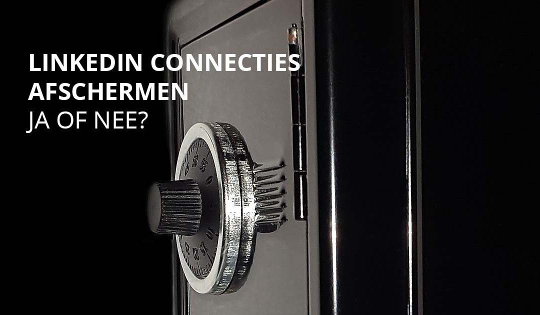 Deelt u uw LinkedIn connecties?